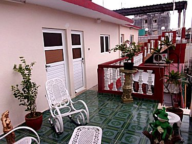 Patio exclusivo huespedes (primer piso)