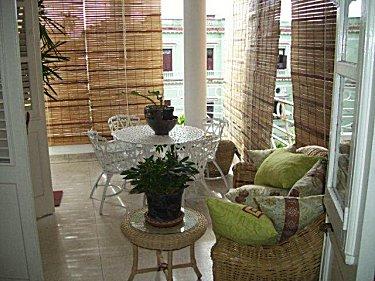 Alquiler del apartamento independiente de juan carlos en for Terraza del apartamento